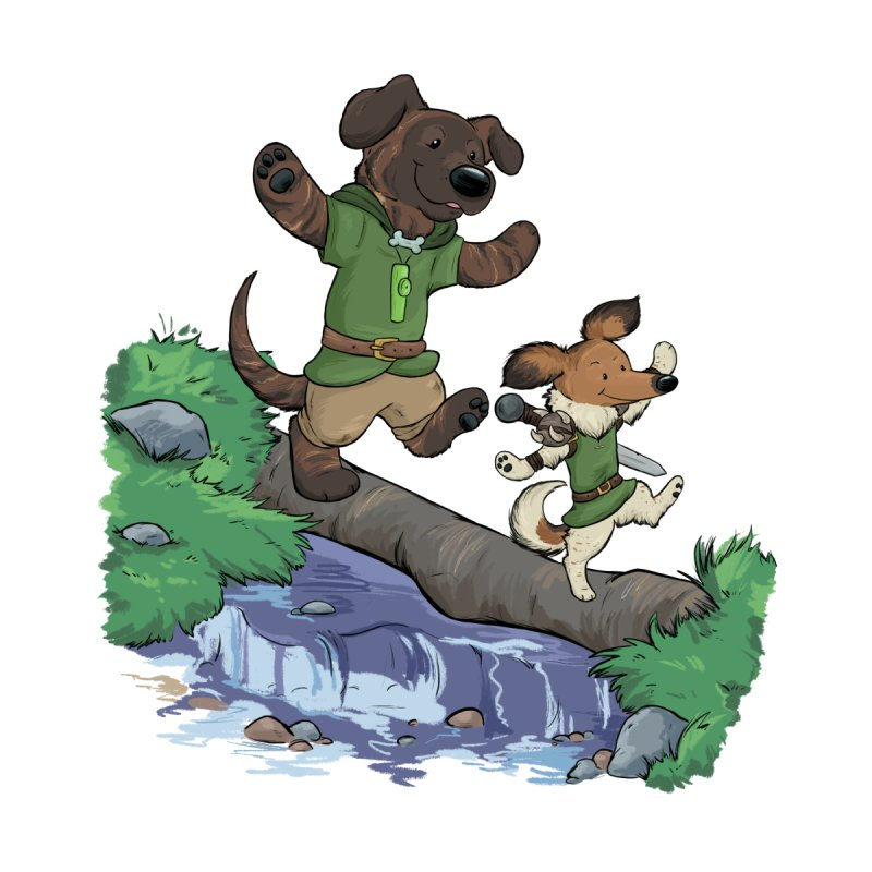 Adventure Buddies Accessories Beach Towel by DnDoggos's Artist Shop