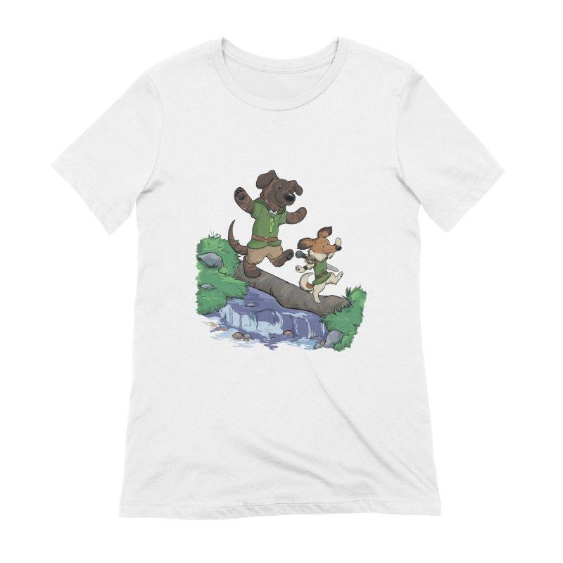Adventure Buddies Women's Extra Soft T-Shirt by DnDoggos's Artist Shop