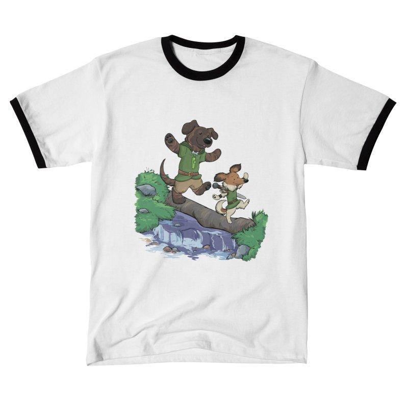 Adventure Buddies Men's T-Shirt by DnDoggos's Artist Shop