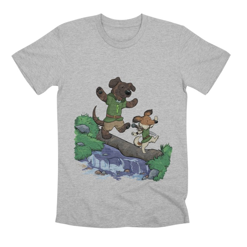 Adventure Buddies Men's Premium T-Shirt by DnDoggos's Artist Shop