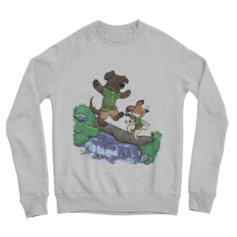 Adventure Buddies Men's Sponge Fleece Sweatshirt by DnDoggos's Artist Shop