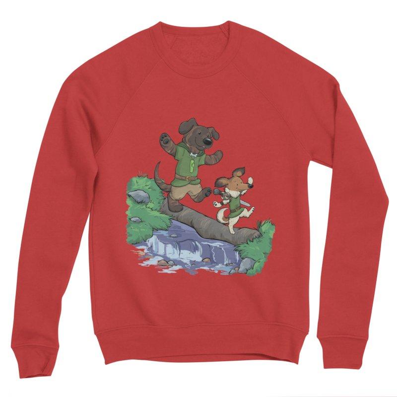 Adventure Buddies Women's Sponge Fleece Sweatshirt by DnDoggos's Artist Shop