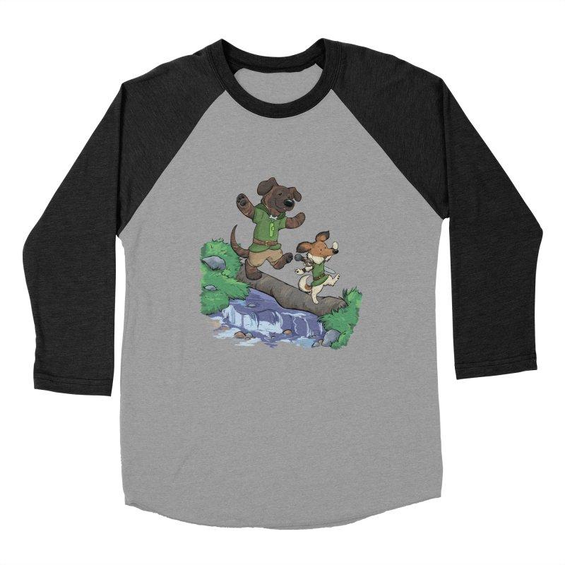 Adventure Buddies Men's Baseball Triblend Longsleeve T-Shirt by DnDoggos's Artist Shop