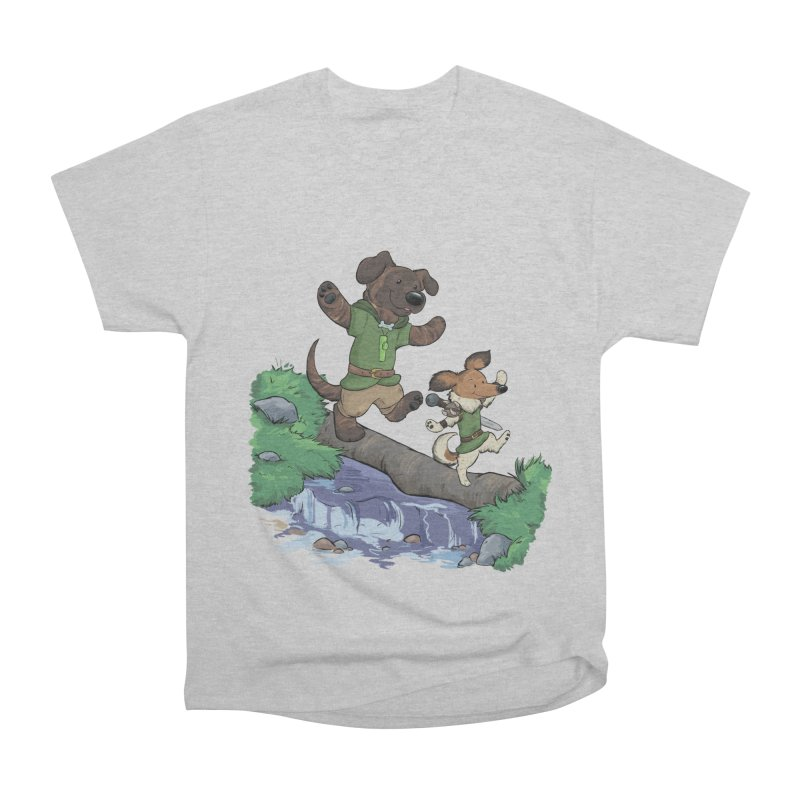 Adventure Buddies Men's Heavyweight T-Shirt by DnDoggos's Artist Shop