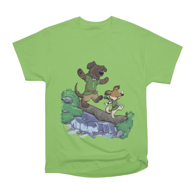 Adventure Buddies Women's Heavyweight Unisex T-Shirt by DnDoggos's Artist Shop