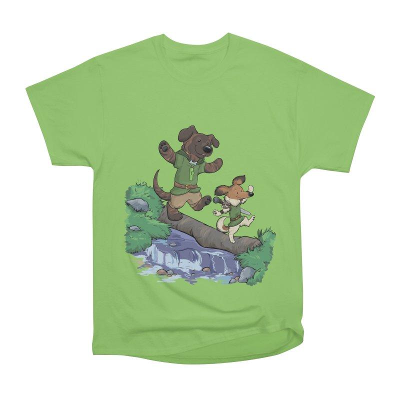 Adventure Buddies Men's Heavyweight T-Shirt by DnDoggos's Artist Shop