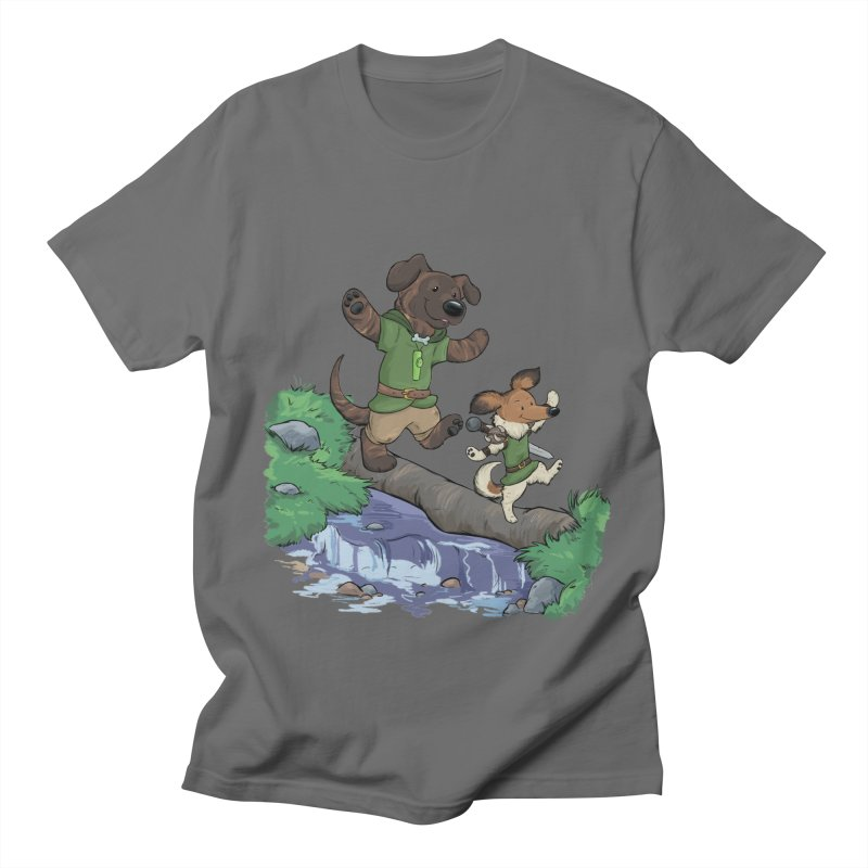 Adventure Buddies Men's T-Shirt by DnDoggos's Artist Shop