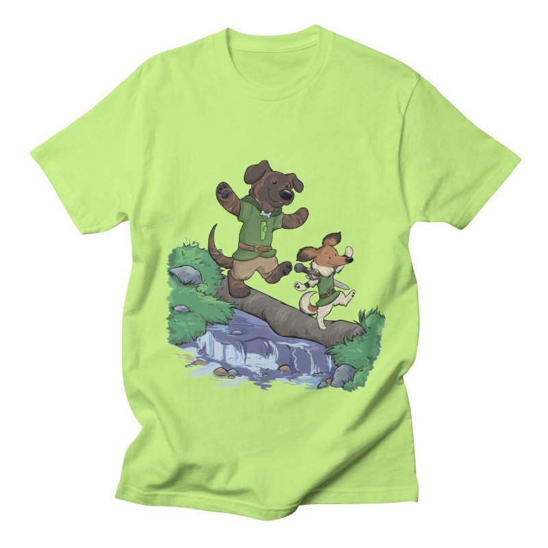 Adventure Buddies Women's Regular Unisex T-Shirt by DnDoggos's Artist Shop