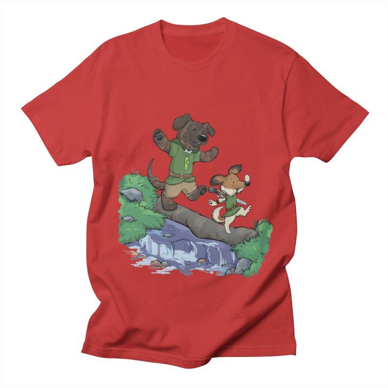 Adventure Buddies Women's Regular Unisex T-Shirt by DnDoggos's Artist Shop