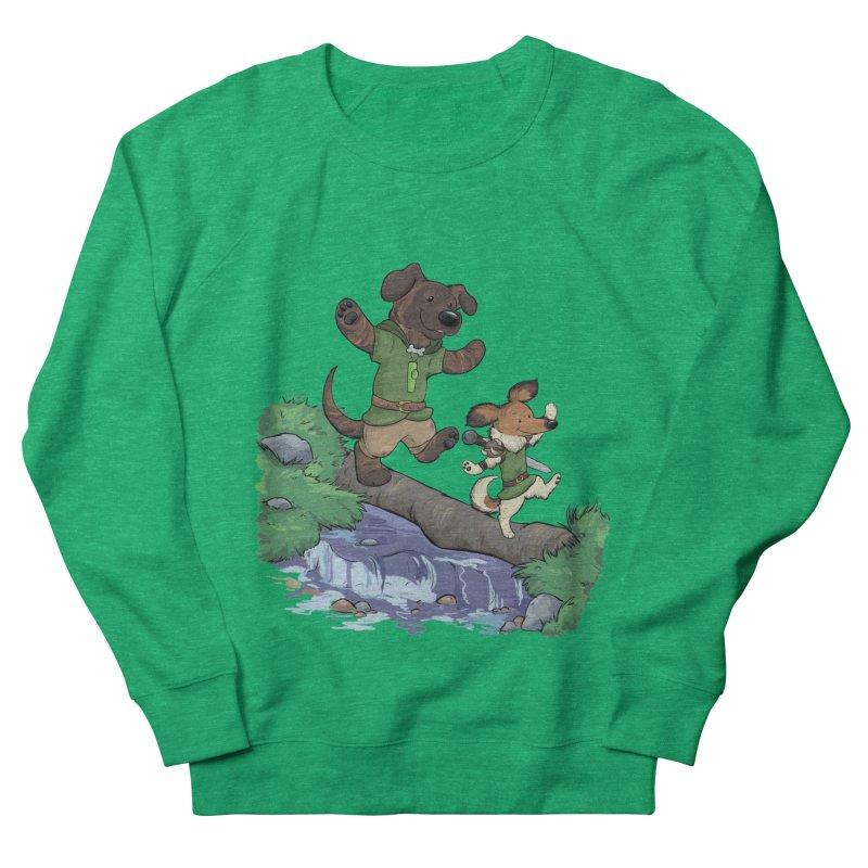Adventure Buddies Men's French Terry Sweatshirt by DnDoggos's Artist Shop