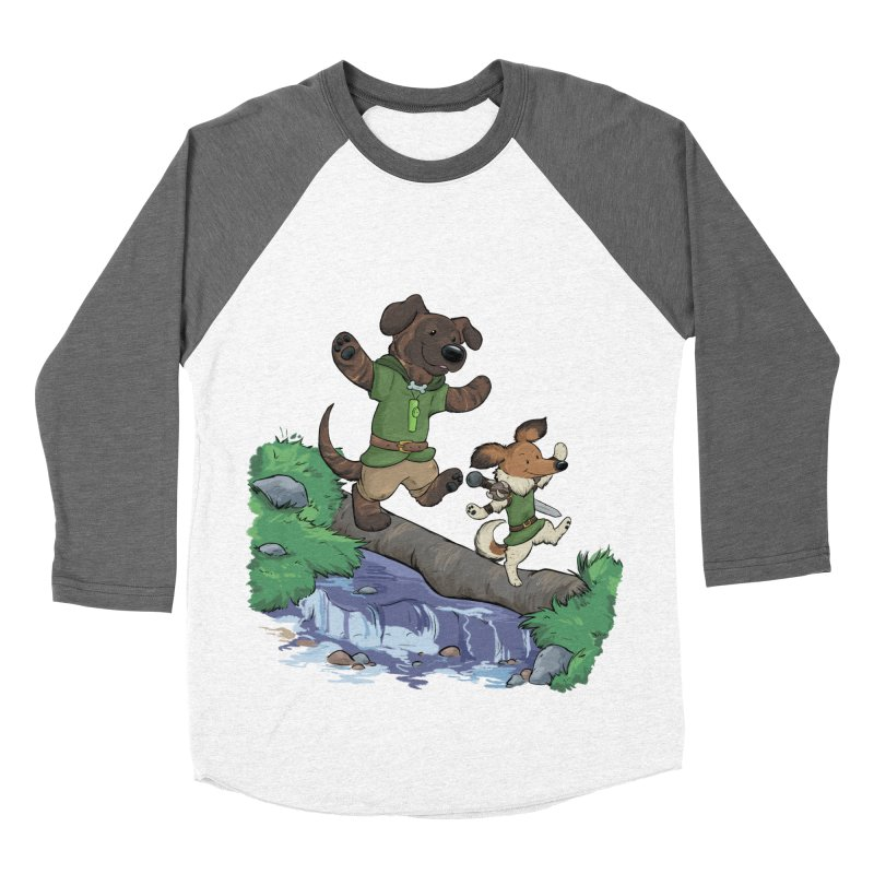 Adventure Buddies Women's Baseball Triblend Longsleeve T-Shirt by DnDoggos's Artist Shop