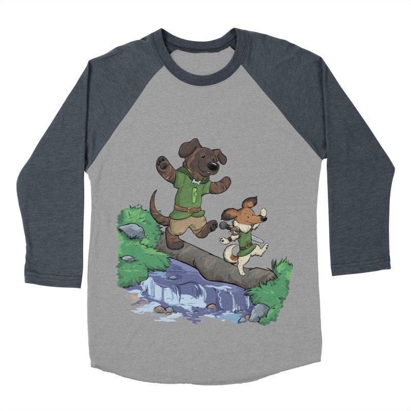 Adventure Buddies Women's Baseball Triblend Longsleeve T-Shirt by DnDoggos's Artist Shop