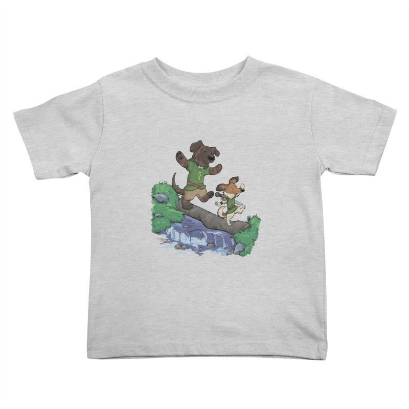Adventure Buddies Kids Toddler T-Shirt by DnDoggos's Artist Shop