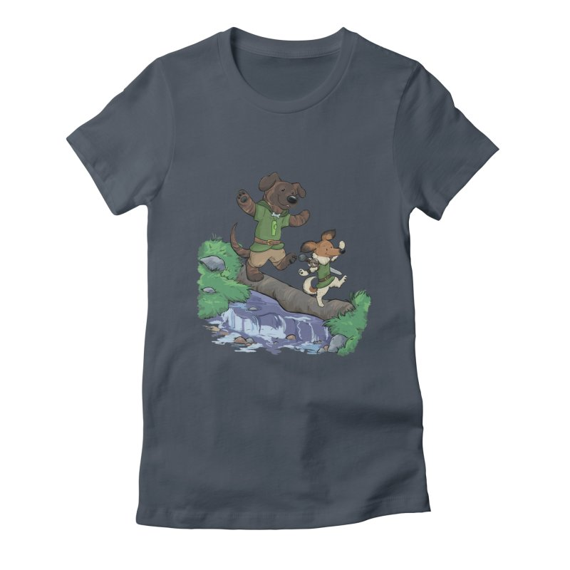 Adventure Buddies Women's T-Shirt by DnDoggos's Artist Shop