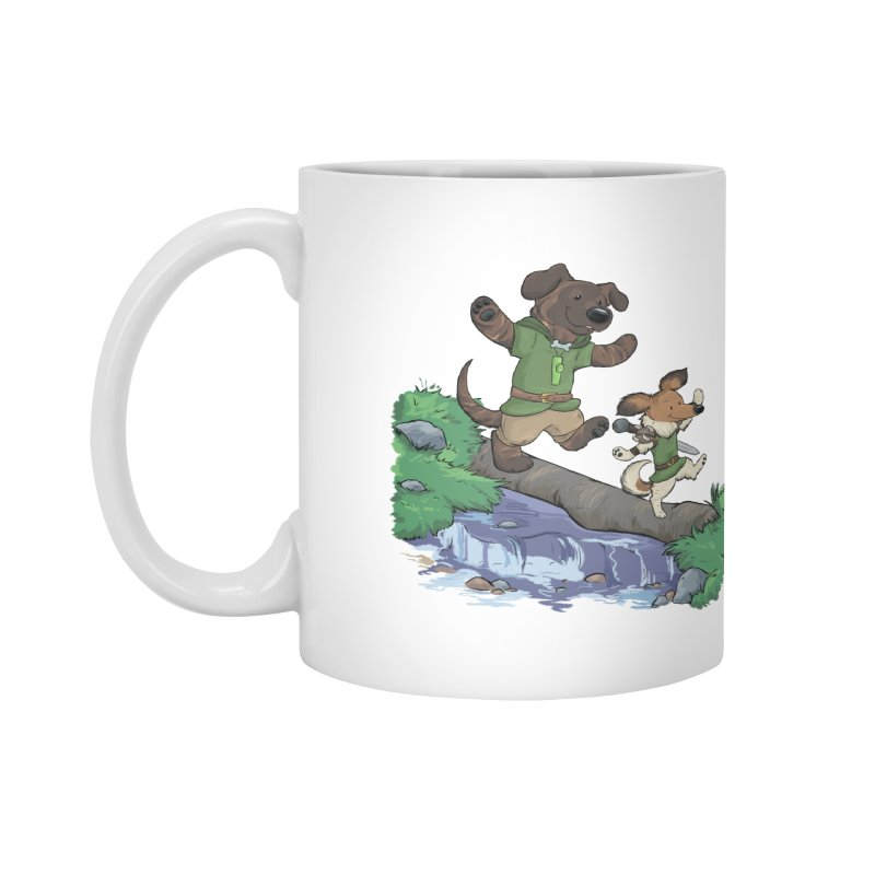 Adventure Buddies Accessories Mug by DnDoggos's Artist Shop
