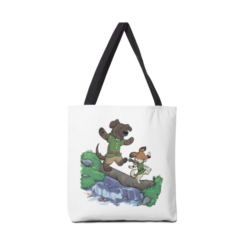 Adventure Buddies Accessories Tote Bag Bag by DnDoggos's Artist Shop