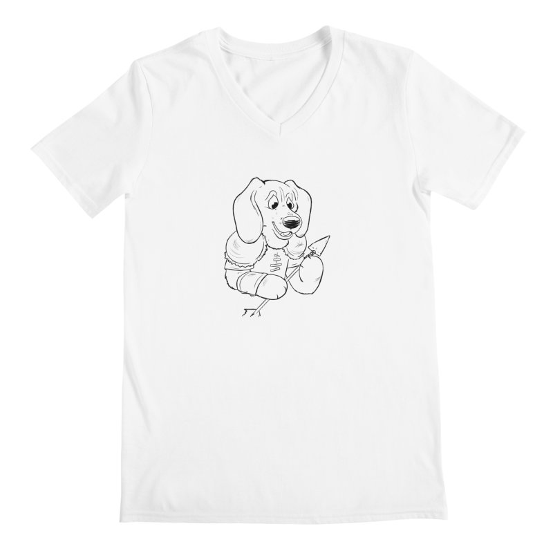 Toby Ranger Men's V-Neck by DnDoggos's Artist Shop