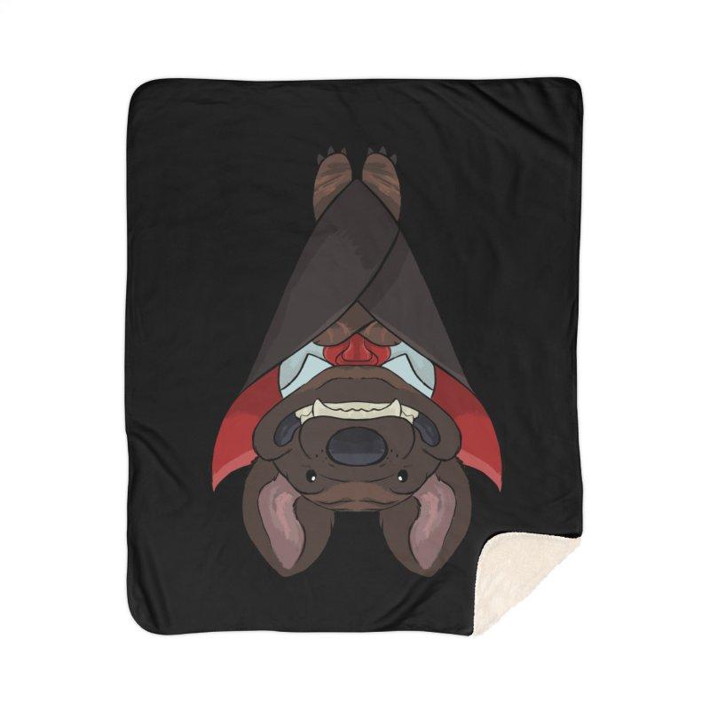 Vampire Pupper Mastiff T-Shirt Home Blanket by DnDoggos's Artist Shop