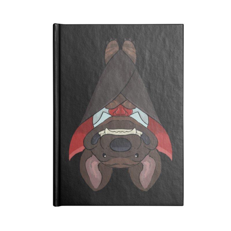 Vampire Pupper Mastiff T-Shirt Accessories Notebook by DnDoggos's Artist Shop