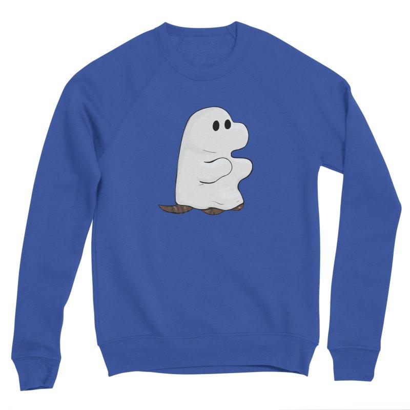 Spooky Sheet Ghost Dog Men's Sweatshirt by DnDoggos's Artist Shop