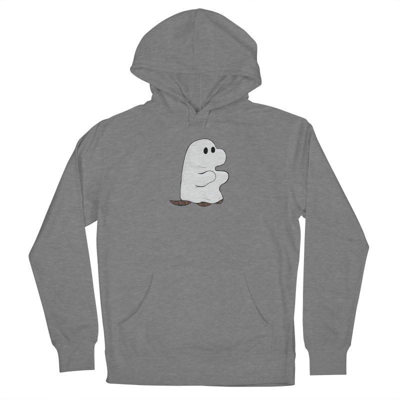 Spooky Sheet Ghost Dog Women's Pullover Hoody by DnDoggos's Artist Shop