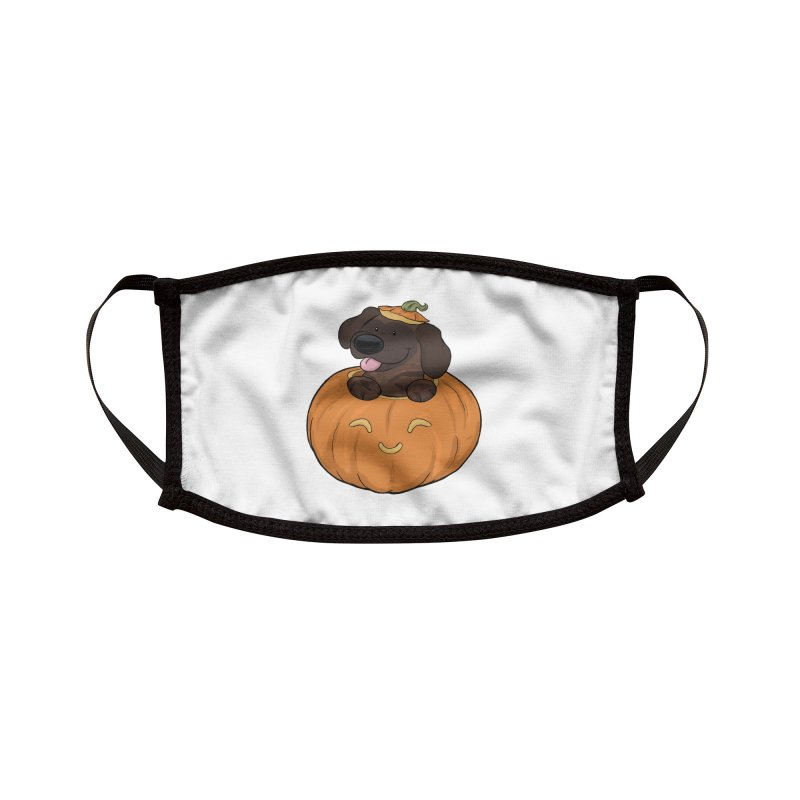 Tonka the Pumpkin Pupkin Accessories Face Mask by DnDoggos's Artist Shop