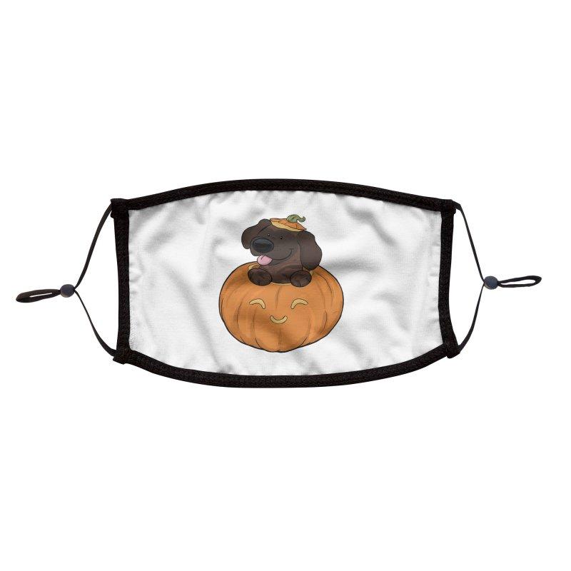 Tonka the Pumpkin Pupkin Accessories Face Mask by DnDoggos's Artist Shop