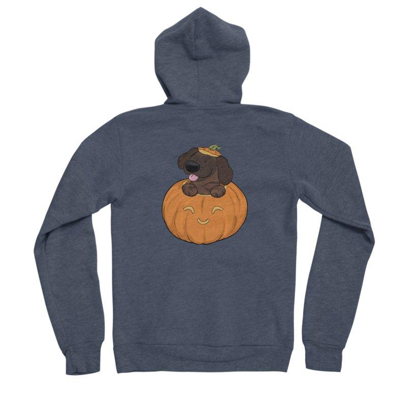 Tonka the Pumpkin Pupkin Men's Zip-Up Hoody by DnDoggos's Artist Shop