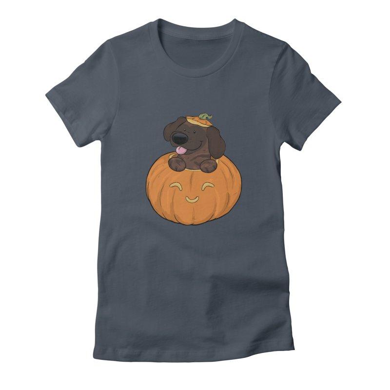 Tonka the Pumpkin Pupkin Women's T-Shirt by DnDoggos's Artist Shop