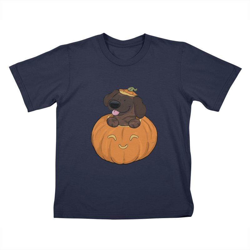 Tonka the Pumpkin Pupkin Kids T-Shirt by DnDoggos's Artist Shop