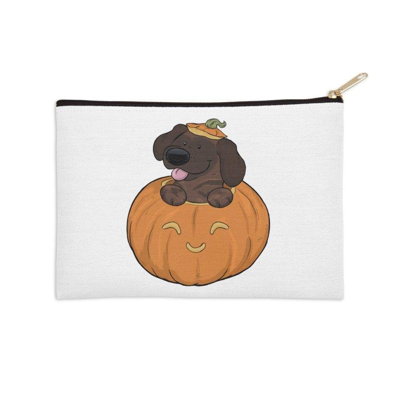 Tonka the Pumpkin Pupkin Accessories Zip Pouch by DnDoggos's Artist Shop