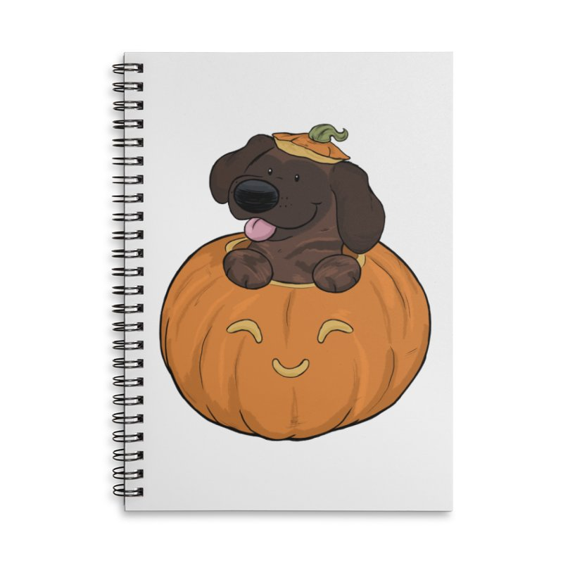 Tonka the Pumpkin Pupkin Accessories Notebook by DnDoggos's Artist Shop