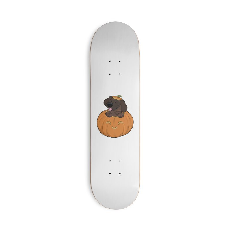 Tonka the Pumpkin Pupkin Accessories Skateboard by DnDoggos's Artist Shop
