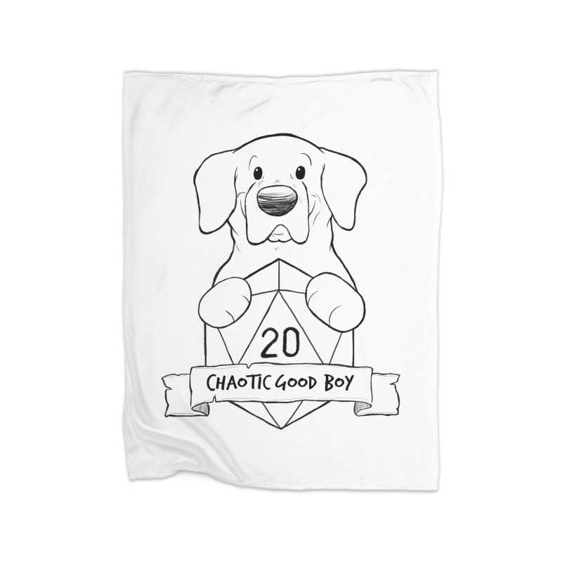 Tonka Chaotic Good Boy Home Blanket by DnDoggos's Artist Shop