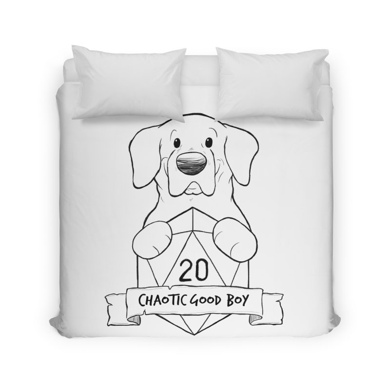 Tonka Chaotic Good Boy Home Duvet by DnDoggos's Artist Shop