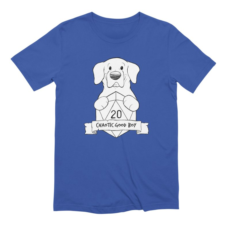Tonka Chaotic Good Boy Men's T-Shirt by DnDoggos's Artist Shop