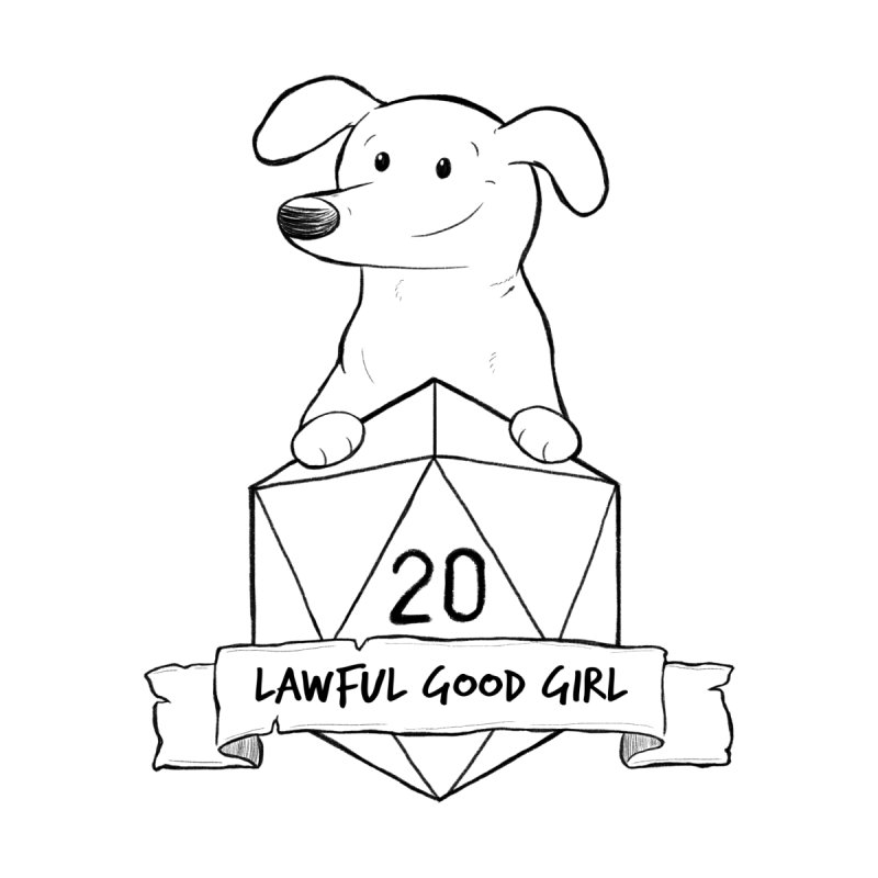 Zoey Lawful Good Girl Home Blanket by DnDoggos's Artist Shop