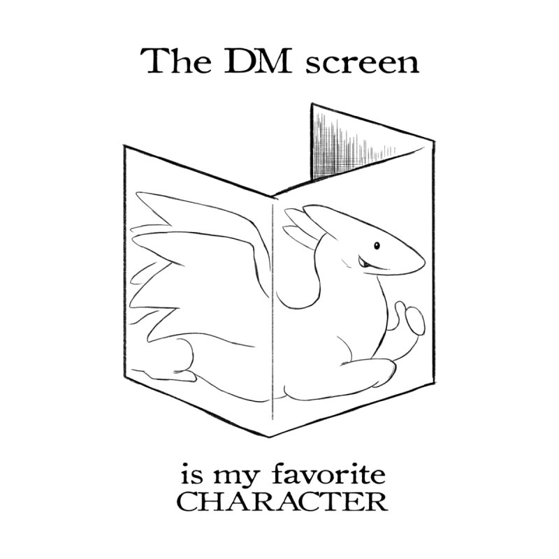 The DM Screen Is My Favorite Character Home Blanket by DnDoggos's Artist Shop