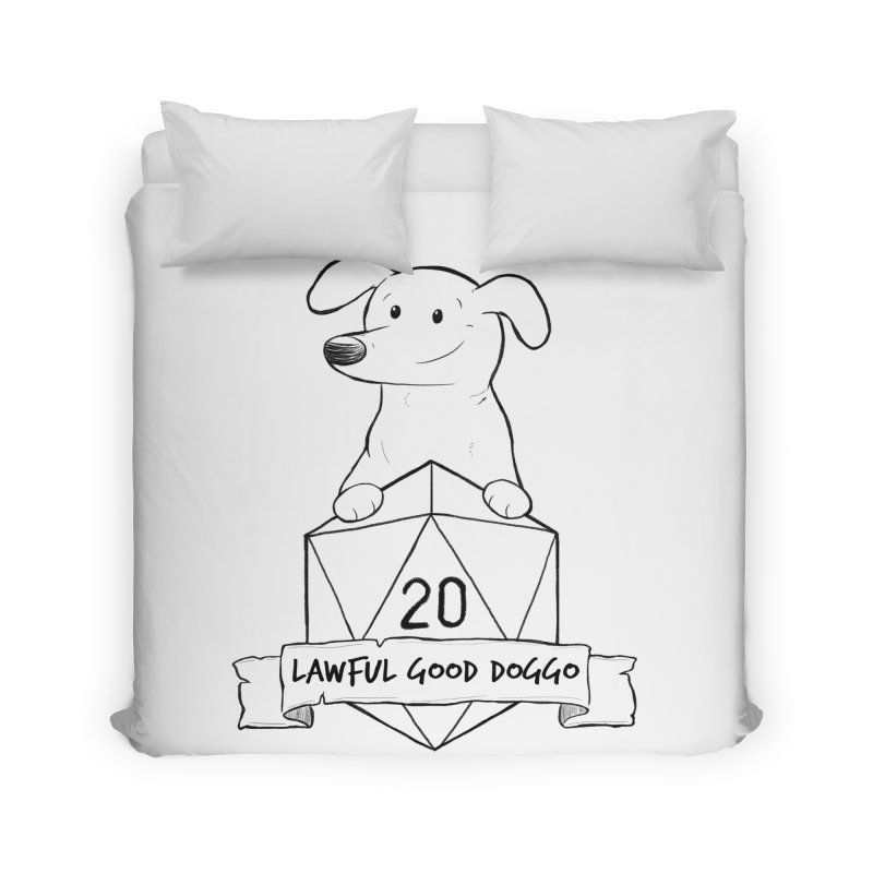 Zoey Lawful Good Doggo Home Duvet by DnDoggos's Artist Shop