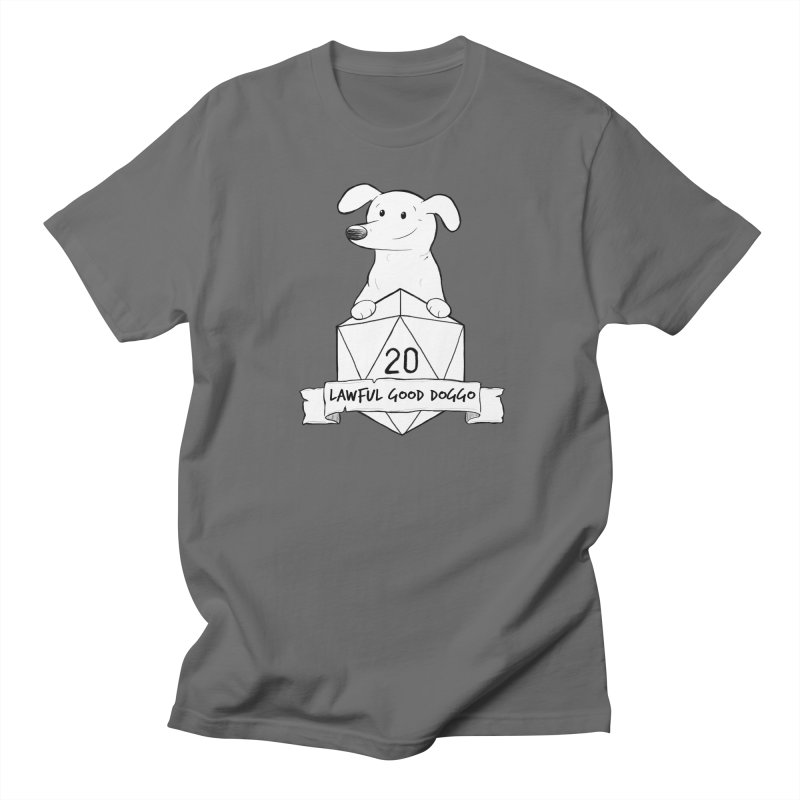 Zoey Lawful Good Doggo Men's T-Shirt by DnDoggos's Artist Shop