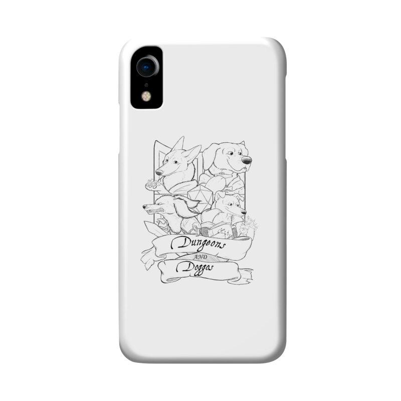 DnDoggos Emblem Accessories Phone Case by DnDoggos's Artist Shop