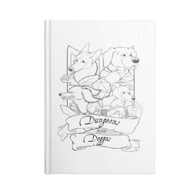 DnDoggos Emblem Accessories Notebook by DnDoggos's Artist Shop