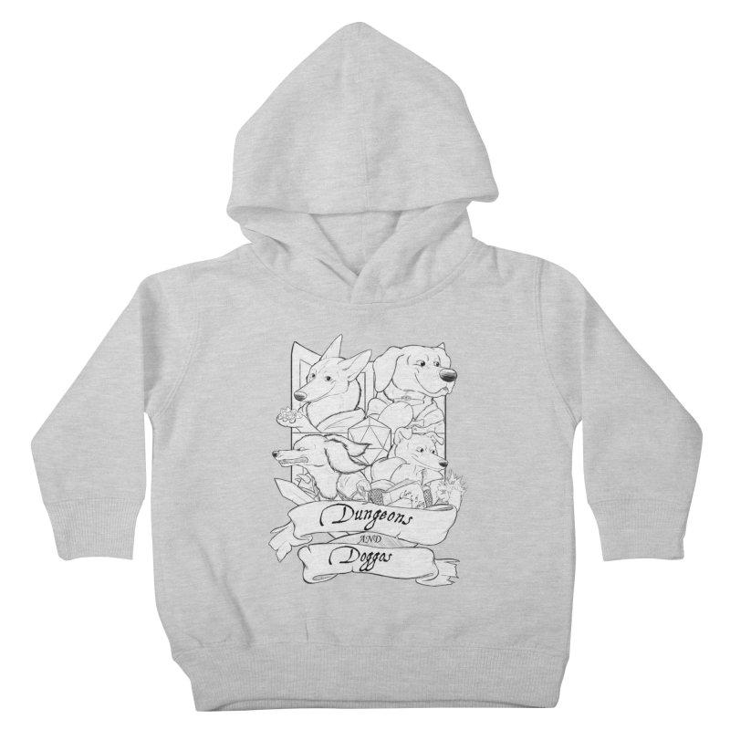 DnDoggos Emblem Kids Toddler Pullover Hoody by DnDoggos's Artist Shop
