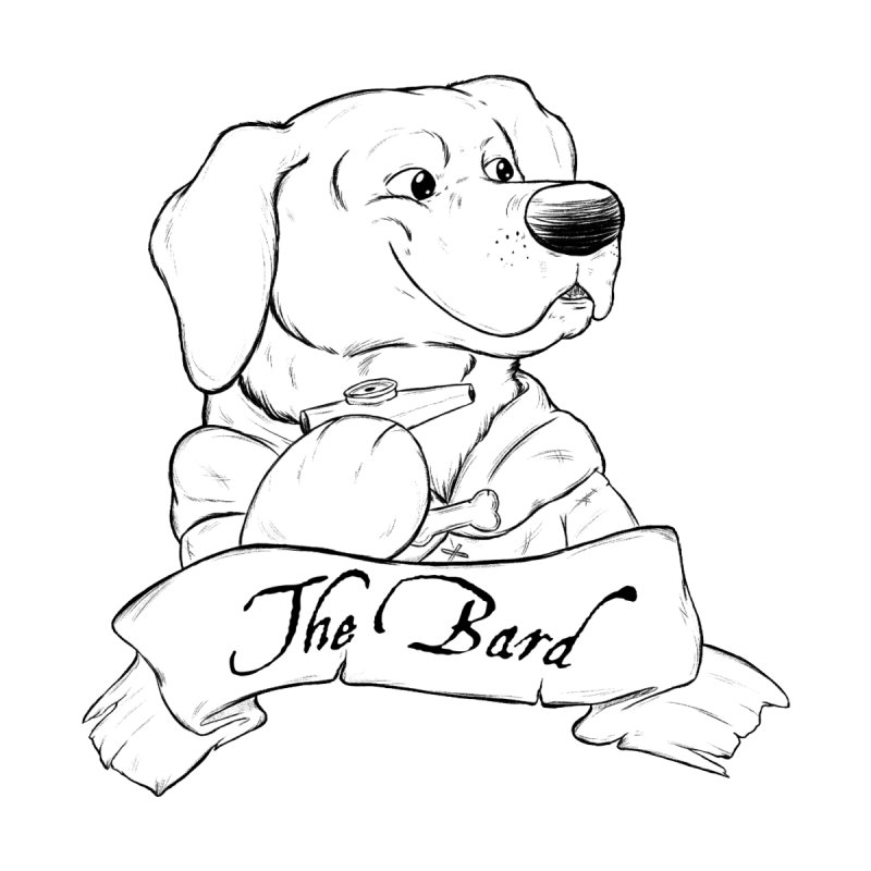 The Bard Home Blanket by DnDoggos's Artist Shop