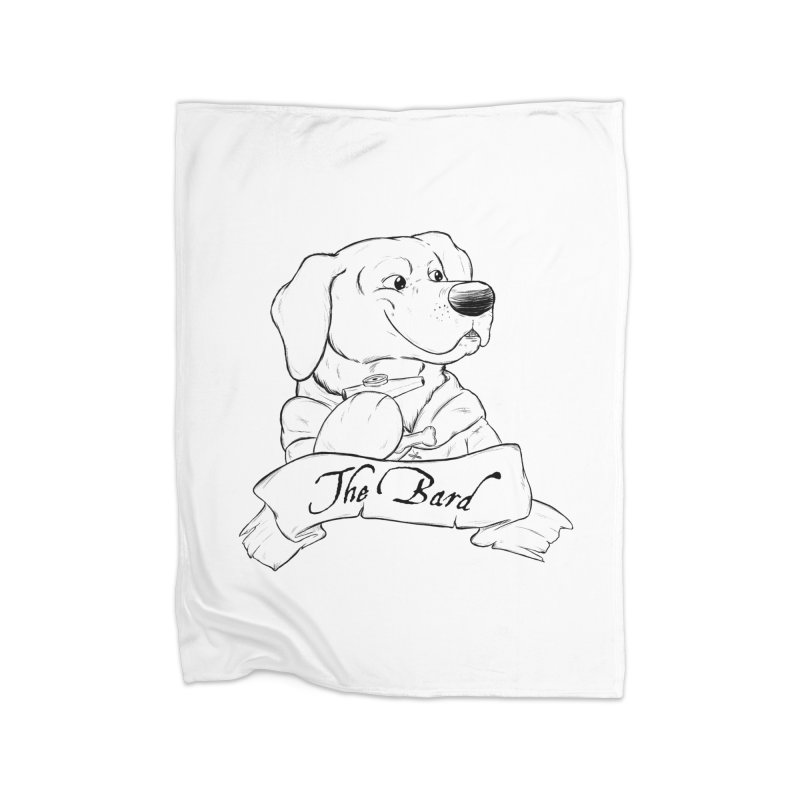 The Bard Home Fleece Blanket Blanket by DnDoggos's Artist Shop