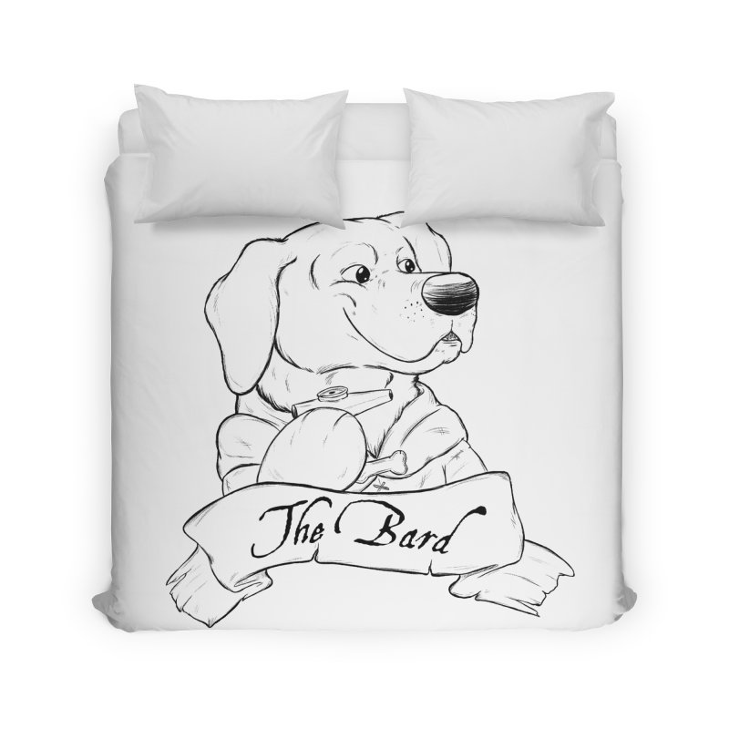 The Bard Home Duvet by DnDoggos's Artist Shop