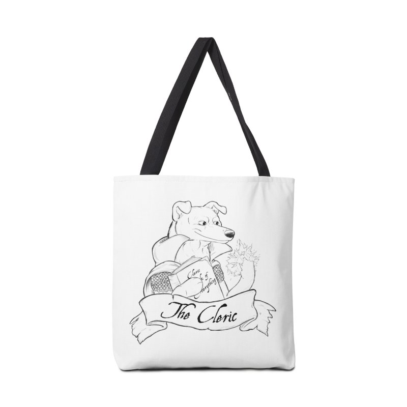 The Cleric Accessories Tote Bag Bag by DnDoggos's Artist Shop