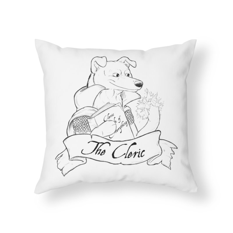 The Cleric Home Throw Pillow by DnDoggos's Artist Shop