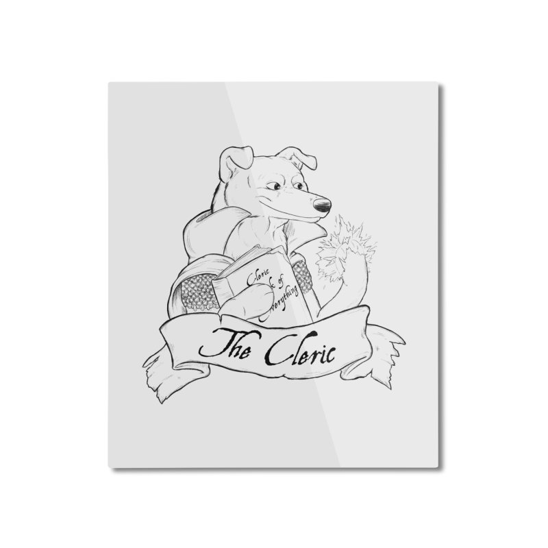 The Cleric Home Mounted Aluminum Print by DnDoggos's Artist Shop