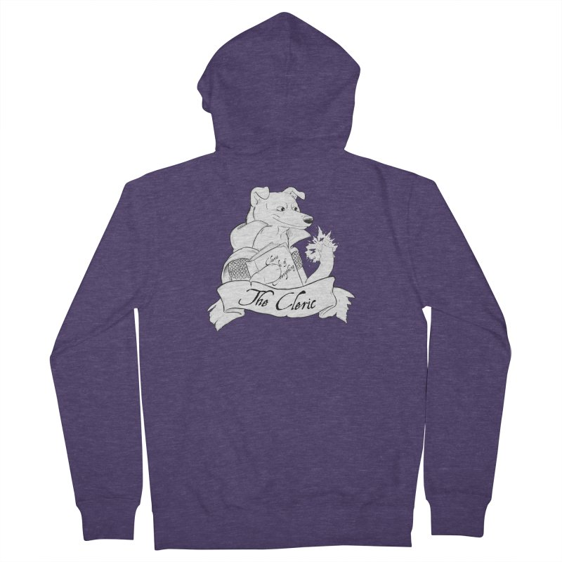 The Cleric Men's French Terry Zip-Up Hoody by DnDoggos's Artist Shop